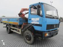Mercedes flatbed truck