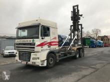 camion DAF XF 430/6x2 Lenk-Liftachse! Normann Bock Silo