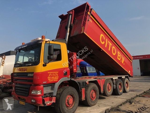 Used Ginaf tipper truck X5450B 10X8 FULL STEEL Greater than 8 Diesel Euro 3  - n°2923689