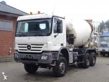 Mercedes concrete truck
