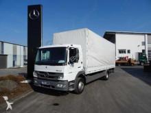 Mercedes Atego 1224 Pritsche/Plane + LBW + AHK 1. Hand truck