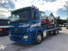 Mercedes heavy equipment transport truck