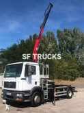 MAN hook lift truck