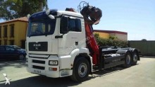 camión caja abierta MAN