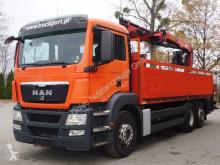 MAN TGS 26.440 6x2 Pritsche Kran PALFINGER 18001L truck