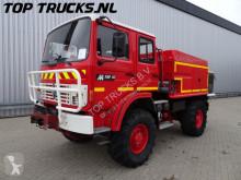 vrachtwagen Renault M150 feuerwehr - fire brigade - brandweer - water tank- pomp