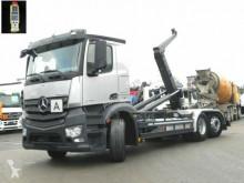 camión Mercedes Antos 2745 6x2 Abrollkipper Meiller, Lift/Lenk