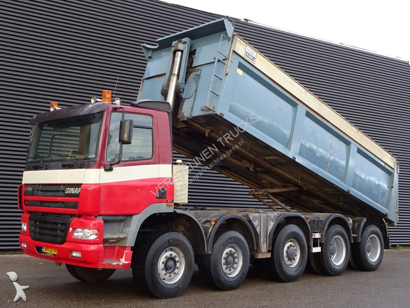 Camion Ginaf X5350TS 10x6 TIPPER / MANUAL GEARBOX