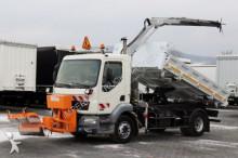 DAF LF 55.220 / CRANE STERN STL/2 SIDED TIPPER/ PLOW truck
