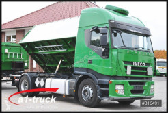 Iveco two-way side tipper trailer truck