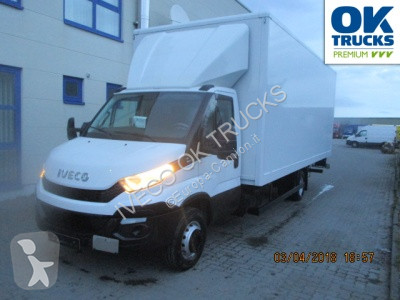 90732122f4 Used Iveco Daily box truck 70C17A8 P (Euro5 Klima Luftfed. ZV) 4x2 Diesel  Euro 5 rear hatch - n°2934584