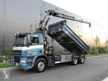 camion DAF 85.380 Kipper+Kran Hiab 144E-3 Hipro Mit Remote