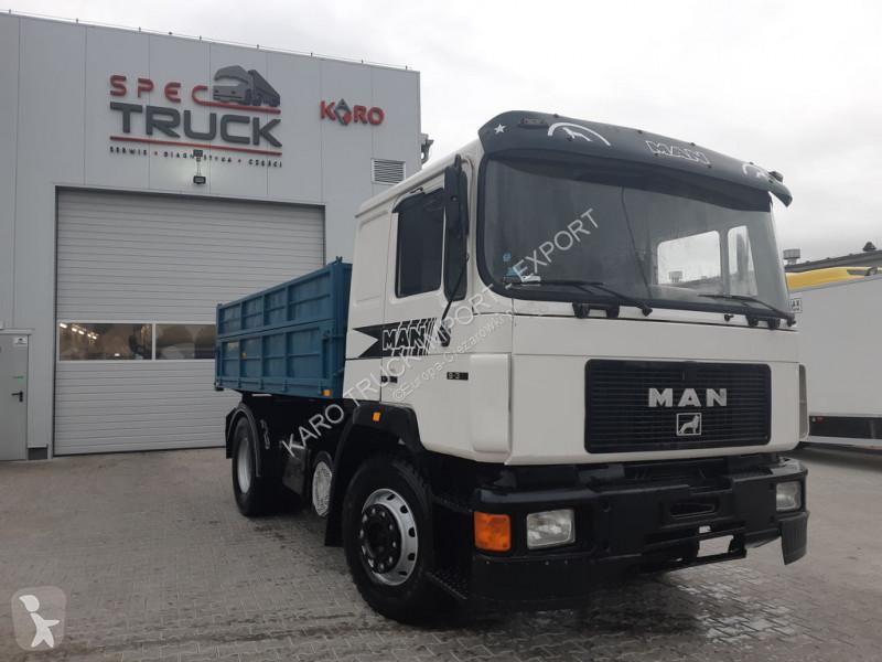 Camion MAN 19.372, Tipper 4x2, Manual