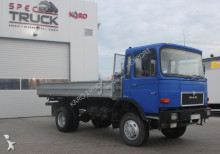 MAN 14.170, Full Steel 6 cylinders, tipper 4x4, Manual truck