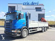 camión Scania 420 R124 6x2 ° Palfinger PK 16502 ° Retarde