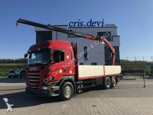 camion Scania R500 6x2 Fassi 235 aus 2013
