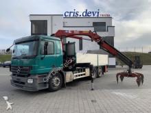 camion Mercedes 2544 6x2 HMF 1680 LBW Greifer