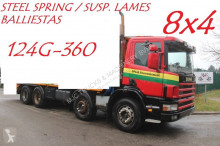 Scania 124G-360 - - STEEL SPRING / BALLIESTAS / LAMES - MANUAL 3+3 - NICE CONDITION truck