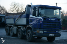 ciężarówka Scania 124 420 / 8x4 kipper / leaf susp / good condition / 18000kg load