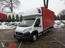 ciężarówka Fiat DUCATOPLANDEKA 10 PALET KLIMA WEBASTO TEMPOMAT PNEUMATYKA LEDY