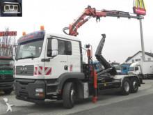MAN TG-A 26.410 FNL 6x2 Abrollkipper mit Kran Funk+G LKW
