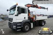 camion MAN TG-S 18.480 4x4 2-Achs Allradkipper Kran Hydrodr