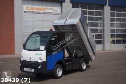 camión Goupil Mega E-Worker 100 % elektrisch met Veegvuil kipper