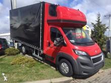 vrachtwagen met huifzeil Peugeot