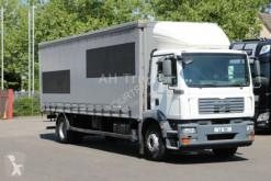camion MAN TGM 18.280 Koffer + Schiebeplane 8,2m / Klima