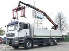 camion MAN TGA 26.440 BL 6x2 Baustoffpritsche mit ATLAS Lad