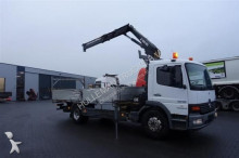 camion Hiab MERCEDES-BENZ - ATEGO 1318 4X2 OPEN BOX WITH 085-1
