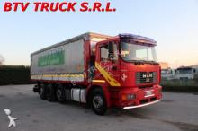 camion MAN FE FE 410 A MOTRICE CENTINATA 4 ASSI
