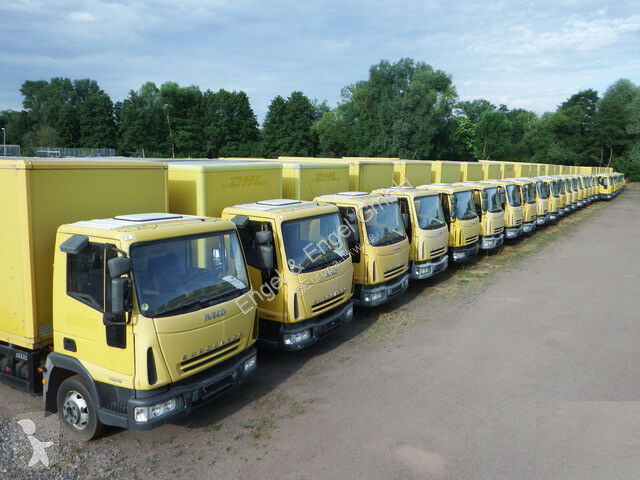 Camion Iveco EuroCargo ML 75 E 16 P LBW Koffer 5,4x2,20m, HLB