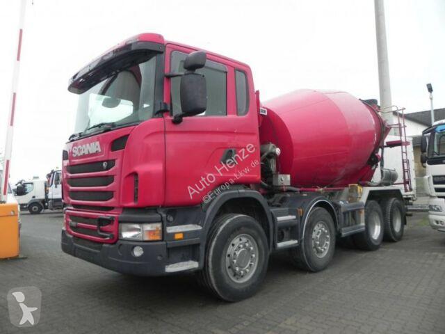 Voir les photos Camion Scania G 380 8x4 Betonmischer Liebherr 9 m³
