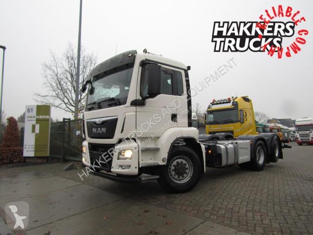 Used MAN chassis truck 26 440 6x4H/6x2 hydrodrive /manual 6x6 Diesel Euro 6  - n°2950491