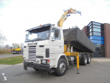 camion Scania 142H420 Tipper / / Full Steel / Effer Crane