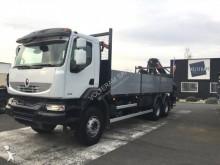 camion plateau ridelles Renault