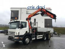 camion Scania 420 P124 CB 6x4 Palfinger PK 21000 D Seilwinde