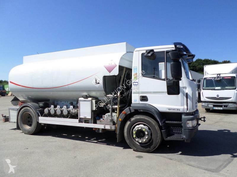 Used Iveco Eurocargo Oil Fuel Tanker Truck Ml 190 El 28 4x2 Diesel