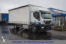 camion Iveco Stralis 180 330 Pritsche+Plane LBW Euro 6