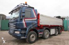 camion DAF CF 460 8x4 BB - KRAN 200 C-5 HIAB FUNKFERN
