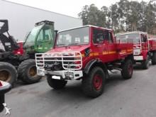 Mercedes wildland fire engine truck