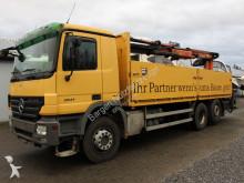camion Mercedes 2541 6x2 Actros Baustoff Kran Terex 145.2 Zange
