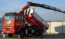ciężarówka MAN TGA 33.410 Kipper 5,20m +Kran*6x6 ! Top zustand!