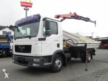 MAN TG-L 8.180 2-Achs Kipper Kran Greiferst. truck