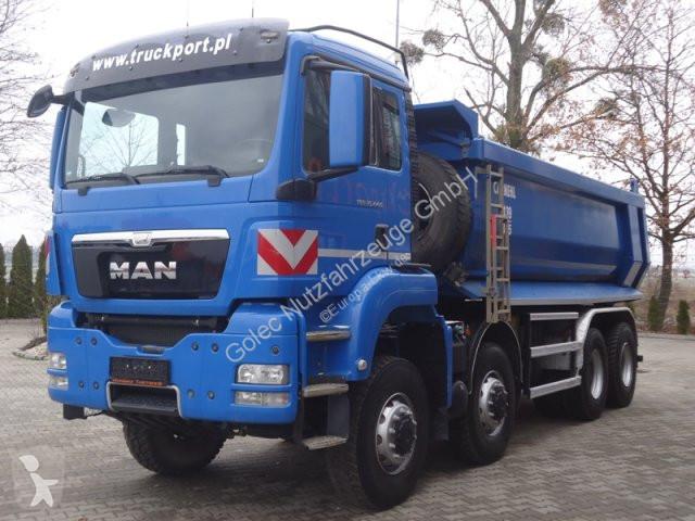 Camion MAN 35.440 8x8 EURO5 Muldenkipper Carnehl 17m3