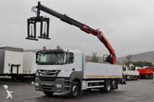 Mercedes AXOR 2543/ 6X2 /CRANE PALFINGER PK 21001L/SADDLE truck