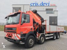 ciężarówka DAF CF 85.430 8x4 Palfinger PK 66000 + Jib Seilwinde