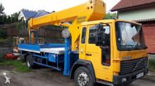 Volvo aerial platform truck