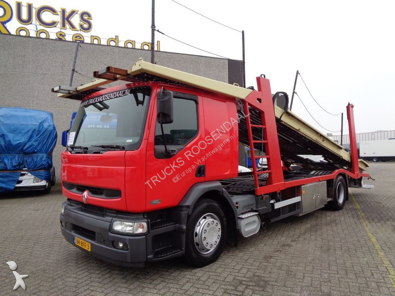 Camion Renault 420 DCI + Manual + 5 cars